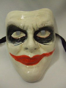 Joker Mask ~ Collectable Handcrafted Venetian Mask