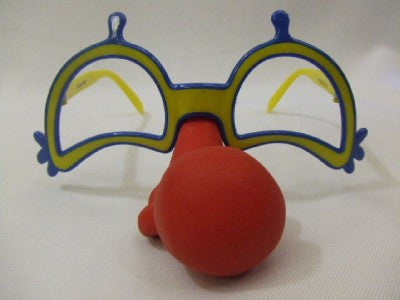 Clown Glasses with Nose ~ Circus ~ Fancy dress ~ Big Top