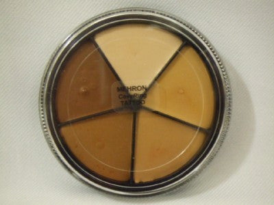 Mehron Make-up ~ Tattoo Concealer Wheel ~ All skin Tones