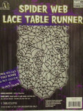 Spider Web Gothic Lace Table Runner Halloween Decorations Tablecloth