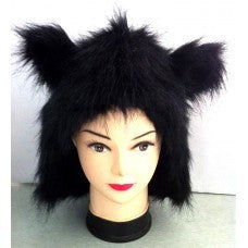 Black fur animal hood ~ Bear ~ Mouse ~ Werewolf ~ Cat ~ Bat ~ Panther
