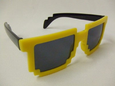 pixel-8 glasses Yellow/smoke ~ pixel specs ~ Computer Nerd