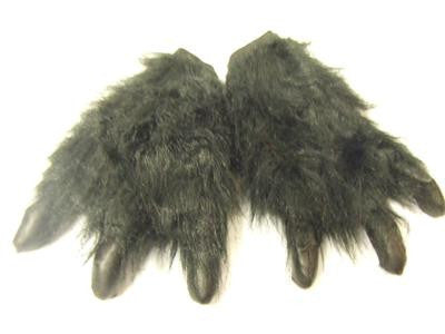 Monster Paws with Claws - Black Hands ~ Werewolf ~ one size