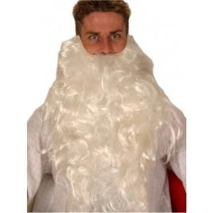 Santa Beard  White  Father Christmas  extra long 50 cm