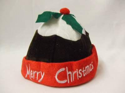 Christmas Pudding Hat ~ Childrens one size ~ Festive ~ Plum ~ Figgy