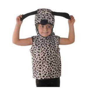 Dalmatian Costume ~ Tabard with Hood ~ 101 ~ Dog ~ Book Week ~ Age 5 - 6