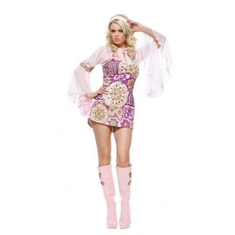 Flower Power fancy dress ~ Hire ~ size 12 ~ 14