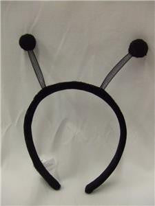Alien Antenna Head Boppers ~ black tipped ~ Space ~ Halloween ~ Mars ~ Insect