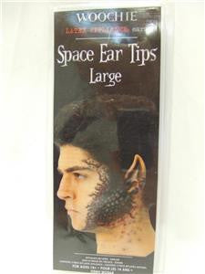 Woochie Latex Appliance ~ Space Ear tips ~ Large ~ Halloween