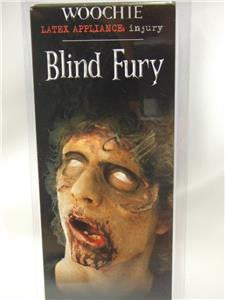 Woochie Latex Appliance ~ Blind fury ~ Facial scar ~ Zombie Make-up ~ Halloween