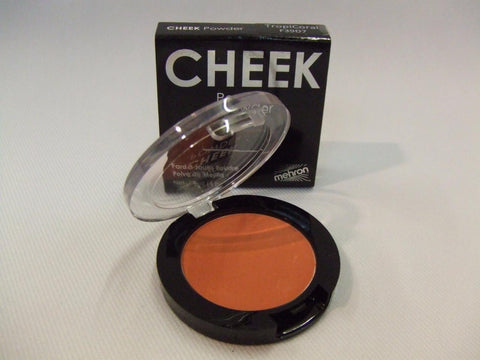 Mehron Cheek Powder ~ Tropicoral ~ Shading ~ Blusher ~ Rouge ~ Theatrical quality
