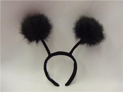 Alien Antenna Head Boppers black tipped  Space  Halloween  Mars Insect