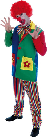 Clown adult fancy dress Circus L 42 - 44