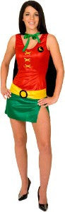 Sexy Robin costume  ~ Superhero fancy dress~ Hire ~ Size 8