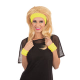 Neon yellow headband set