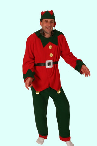 Elf Suit ~ Santa's Helper ~ Fleece ~ Up to 50