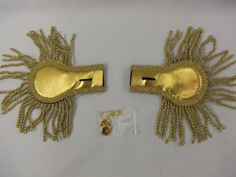 Epaulettes Gold 18th Century  Pantomime  Prince Charming  Military