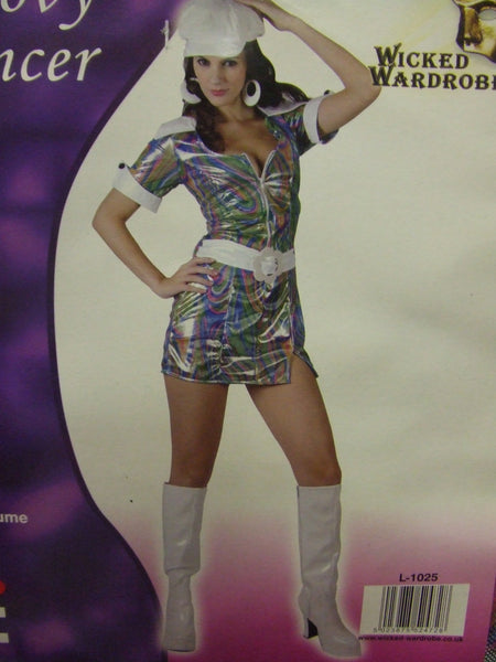 Groovy Dancer Psychedelic Dress 70s Disco Soul
