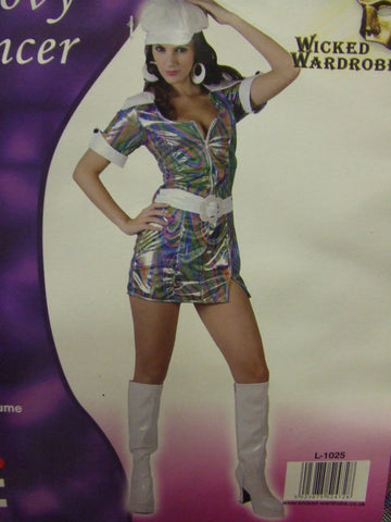 Groovy Dancer ~  Psychedelic Dress ~ 70s  ~ Disco ~ Soul Train ~ 12 - 14