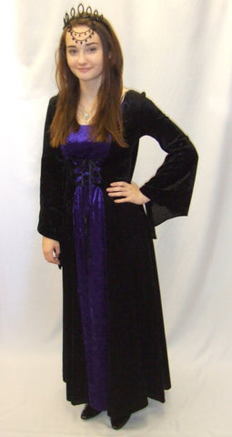 Gothic Fancy Dress  ~ Hire ~ Size 10 - 12  and 16 - 18 ~ Halloween ~ Witch ~ lily