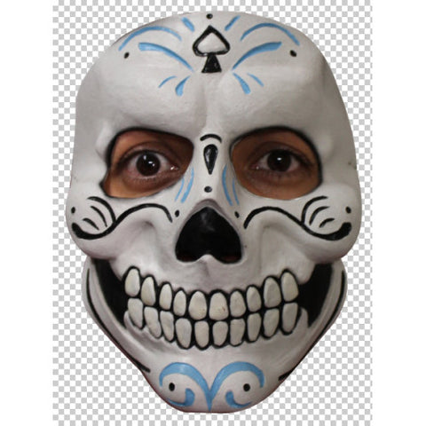 Day of the Dead ~ Mask ~Blue~ Latex ~ Dias los Meurtos ~ Mister Catrin