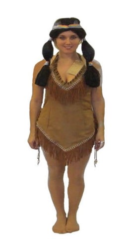 Indian Squaw costume ~ Native American ~ Hire ~ Size 10 ~ Tigerlily