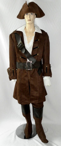 Deluxe Pirate Costume ~ Hire ~44