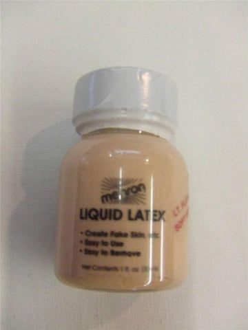 Mehron Liquid Latex ~ Light Flesh / Soft Beige ~ 30ml