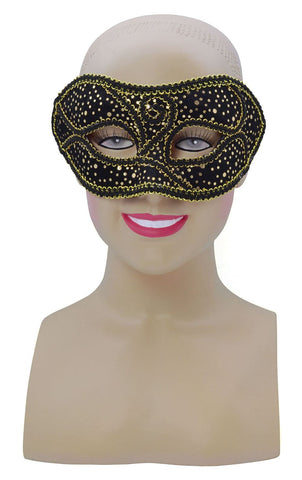 Venetian Masquerade Mask ~ Black and Gold ~ Ball ~ Party ~ Carnival