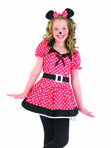 Missy Mouse ~ Girls Fancy Dress ~ World book day ~ Medium - Age 6 - 8