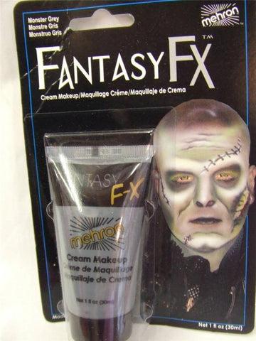 Mehron Fantasy FX make-up ~ Face paint ~ Monster Grey  ~ halloween