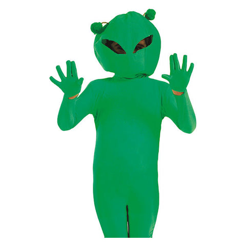 Alien fancy dress costume  Sci fi space Girls Boys Small Age 4 - 6