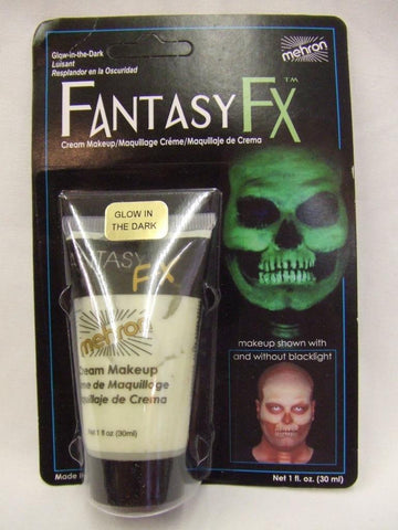 Fantasy FX Glow in the Dark Face Paint ~ UV ~ Blacklight ~ Halloween ~ make-up
