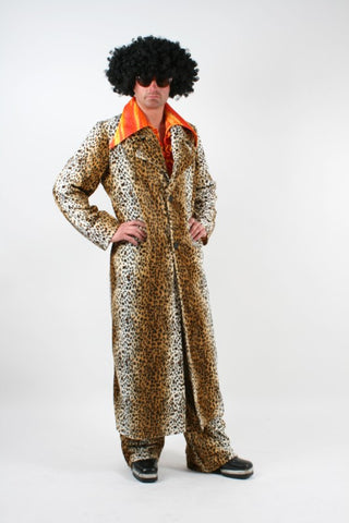 Pimp Costume ~ 1970s ~ Cheetah ~ Hire ~ 44
