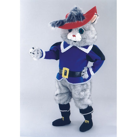 Mascot costume - Musketeer Cat pantomime fund raising  Hire