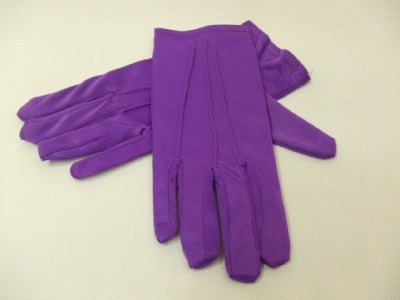 Purple Gloves  Mens size  Joker Halloween