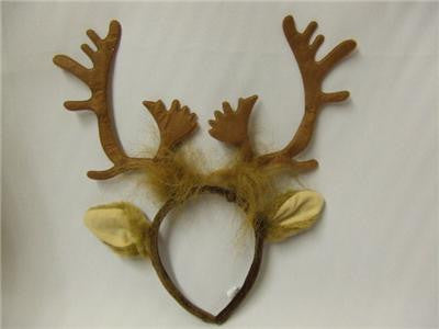 Reindeer Antlers and Ears ~ Rudolph  Sven ~ Frozen