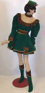 Santa's Sexy Helper   ~ Fancy dress Hire ~ Size 12  Christmas Green