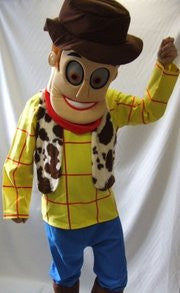 Cowboy Mascot ~ Hire ~ 1990s ~ cartoon character