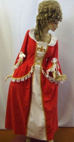 18th Century Musketeer Gown Hire ~ Size 22 ~ Georgian ~ Pompadour ~ French
