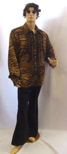 1970s Animal Shirt and Trousers ~ Hire ~ 50