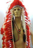"Indian Chief ~ Hire ~ 42"" chest ~ Western ~ Peter Pan"