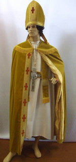 Gold Archbishop ~ Hire ~ One size ~ Religious ~ Uniform ~ C of E