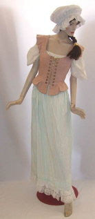 Medieval Wench ~ Pink and blue  ~ size 10 ~ 12  Hire