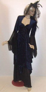 Gothic Claudia Witch  Dress  ~ Hire ~ Size 10 12 14 ~ Halloween