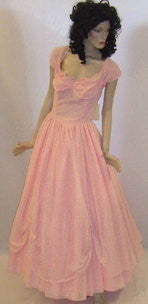 Victorian  Dress ~  Hire ~ Size 10 ~ pink Chiffon ~ Hire