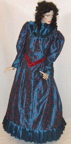 Blue Victorian Gown Hire ~ Size 18 ~ 20