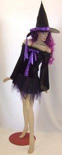 Midnight Witch ~ Hire ~ Size 10  ~ Halloween