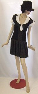 1920s Gangster Dress ~ Gatsby ~ bugsy ~  Hire ~ Size 12 ~ 14