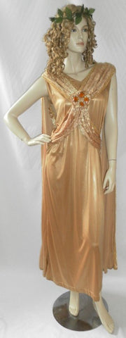 Aphrodite ~ Greek / Roman Goddess ~ Toga ~ fancy dress ~ Hire ~ Size 12 / 14